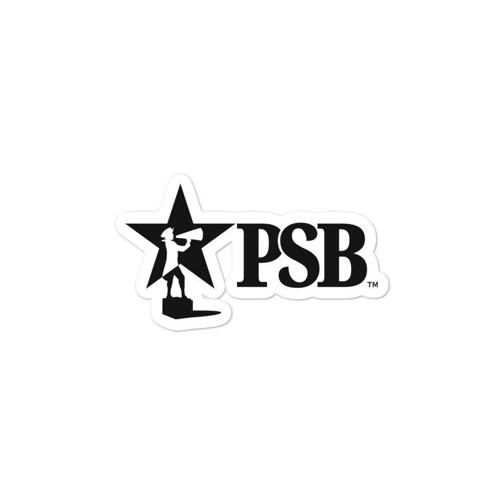 Patriots' Soapbox PSB Stickers