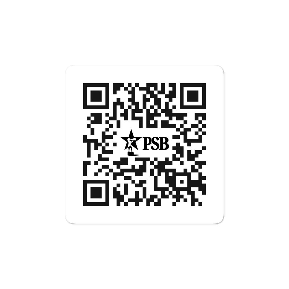 PSB QR Code Sticker