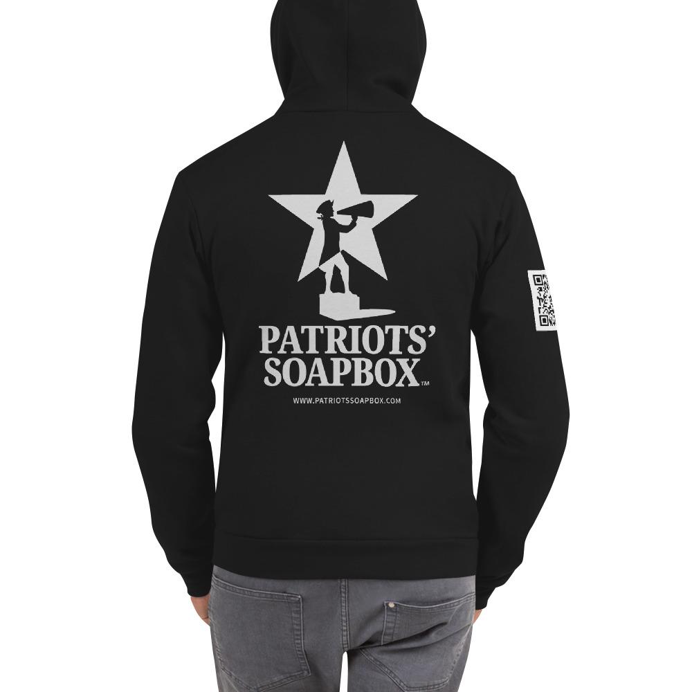 Patriots' Soapbox Zip Up Hoodie